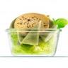 Verrine de foie gras et artichaut en salade