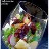 Verrine de salade de poulpe