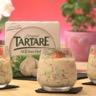 Verrine fraîcheur saumon fumé Tartare et concombre