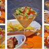 Verrine salsa brochettes de poulet au bacon et sauce salsa