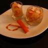 Verrine sucrée salée surimi/ananas