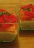 Verrines au saumon fumé et crème de concombre