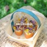 Verrines de gaspacho tartare de tomates et poivrons jaunes