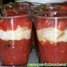 Verrines fraîcheur aux 3 tomates et au chèvre frais