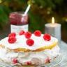 Victoria Sponge Cake à la Confiture 4 fruits Bonne Maman