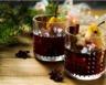 Vin chaud aromatisé aux poires pochées