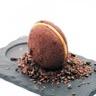 Whoopies au chocolat noir ganache au caramel beurre salé