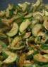 Wok de Courgettes au citron et à l'huile d'Olive..