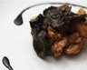 Wok de poulet aux champignons noirs et au gingembre