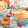 Yaourt glacé à l'abricot romarin et miel de citronnier