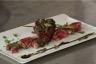 Aiguillettes de canard laquées au miel de soja câlins de radis roses et pois gourmand
