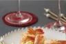 Beignets de gambas et sauce curry-pomme