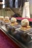 Bonbons de foie gras sur pain d'épices