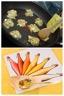 Boulettes de poulet sauce crémeuse Cidre/Curcuma et Pêches au Cidre et Baies roses