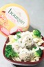 Boulettes de viande à l'alsacienne et sa sauce blanche au boursin cuisine échalotes et ciboulette