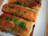Bricks savoureuses aux épinards pommes de terre et fromage