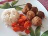 Brochette de boulettes de poulet
