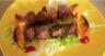 Brochettes de canard marinées à l'orange