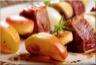 Brochettes de Magret de Canard aux Pommes Antarès