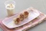 Brochettes de poulet à la citronnelle sauce Boursin cuisine ail & fines herbes et cacahuètes