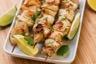 Brochettes de poulet au citron & Purée de panais et carottes