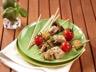 Brochettes de thon à l'aubergine marinées au citron