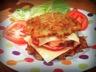 Burger aux galettes de pommes de terre