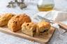 Cake aux olives tomates séchées et parmesan