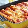 Cannelloni viande hachée et tomates confites