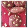 Cookies red velvet chocolat blanc