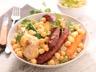 Couscous poulet et merguez facile au Cookeo