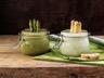 Crème d'asperges en verrines au Companion