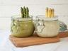 Crème d'asperges en verrines au Cooking Chef