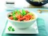 Crevettes et légumes au wok