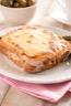 Croque-monsieur au jambon et à la mozzarella