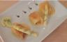 Croustade de noix de St Jacques à la crème d'asperges