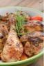 Cuisse de poulet citronelle