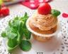 Cupcakes salés Tomates séchées & Mozzarella (ou Cake classique)