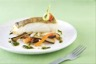 Dos de cabillaud au pistou et légumes niçois