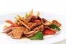 Emincé de boeuf au curcuma wok de légumes à la citronnelle