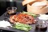 Emincé de canard laqué au miel de soja choucroute façon wok