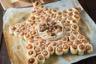 Feuilleté saucisse & Camembert rôti en étoile pour Noël