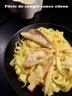 Filets de rouget sauce citron