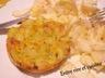 Galettes de pommes de terre et butternut au comté