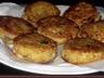 Galettes de pommes de terre fourrées au fromage