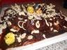 Gâteau léger chocolat blanc et chocolat au lait