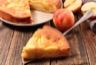 Gâteau moelleux aux pommes caramélisées