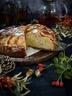 Gâteau moelleux aux pommes et à la pâte d'amande