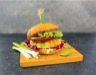 Hamburger au tofu