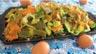 Haricots plats en salade